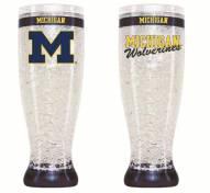 Michigan Wolverines Crystal Pilsner Glass