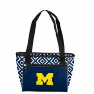 Michigan Wolverines Double Diamond Cooler Tote