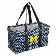 Michigan Wolverines Double Diamond Picnic Caddy