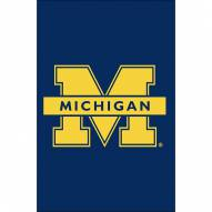 Michigan Wolverines Double Sided Applique Garden Flag