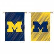 Michigan Wolverines Double Sided House Flag
