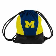 Michigan Wolverines Drawstring Bag