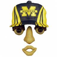 Michigan Wolverines Forest Face