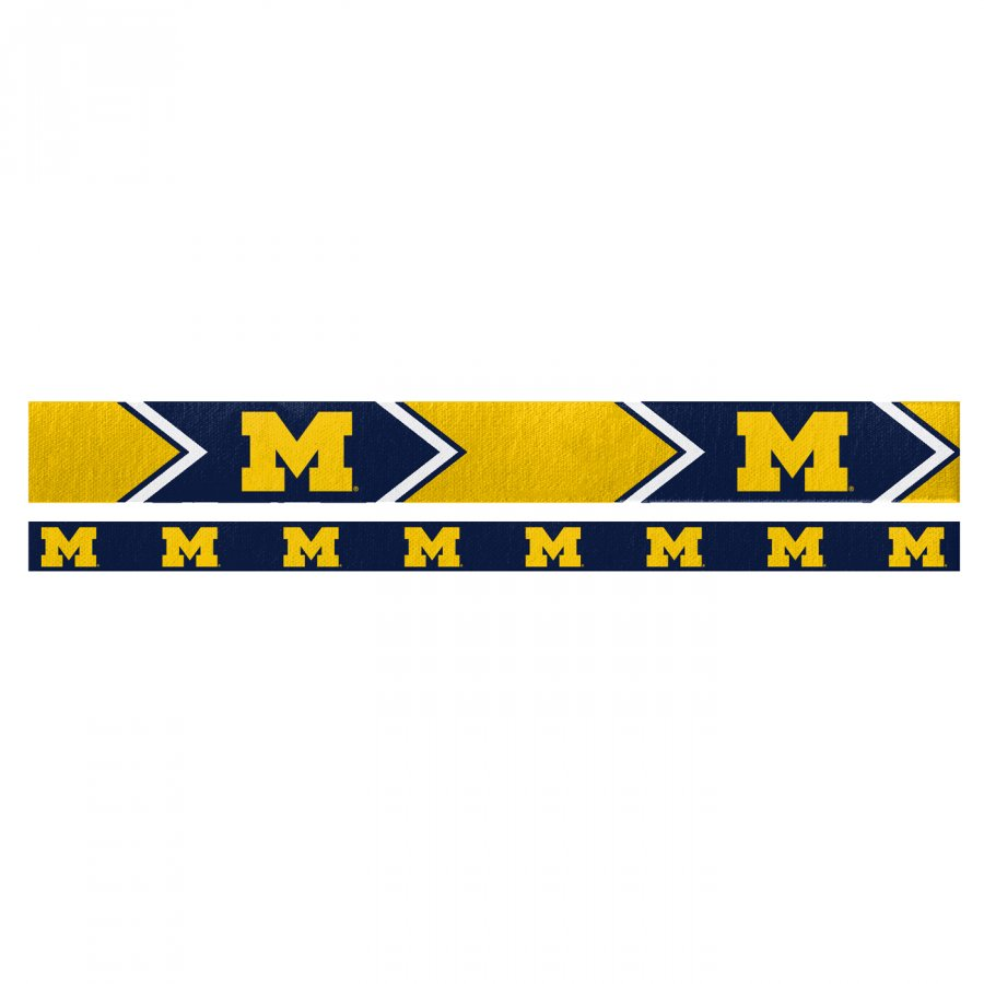 Michigan Wolverines Headband Set
