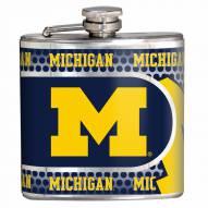 Michigan Wolverines Hi-Def Stainless Steel Flask