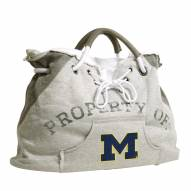 Michigan Wolverines Hoodie Tote Bag