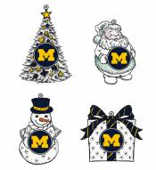 Michigan Wolverines LED Christmas Tree Ornaments