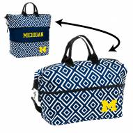 Michigan Wolverines Expandable Tote Bag