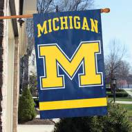 Michigan Wolverines - M NCAA Embroidered / Applique College Flag Banner