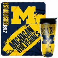 Michigan Wolverines Mug & Snug Gift Set