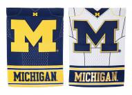 Michigan Wolverines Double Sided Jersey Garden Flag