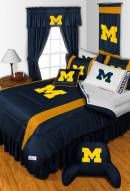 Michigan Wolverines NCAA Sideline Bed Set