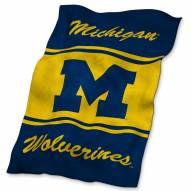 Michigan Wolverines NCAA UltraSoft Blanket