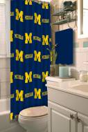 Michigan Wolverines Shower Curtain