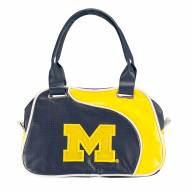 Michigan Wolverines Perf-ect Bowler Purse