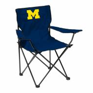 Michigan Wolverines Quad Folding Chair