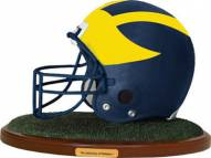 Michigan Wolverines Replica Football Helmet Figurine