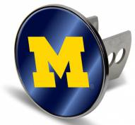 Michigan Wolverines Laser Hitch Cover