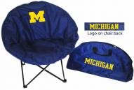 Michigan Wolverines Rivalry Round Chair