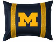 Michigan Wolverines Sidelines Pillow Sham