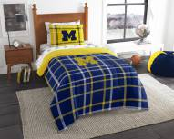 Michigan Wolverines Soft & Cozy Twin Bed in a Bag