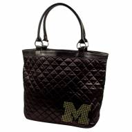 Michigan Wolverines Sport Noir Quilted Tote