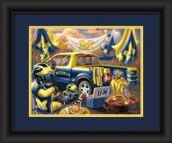 Michigan Wolverines Tailgate Framed Print