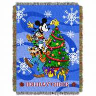 Mickey Mouse Spread Cheer Throw Blanket