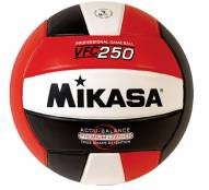 Mikasa VFC250 Championship Series Indoor Volleyball - Red / White / Black