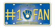 Milwaukee Brewers #1 Fan License Plate
