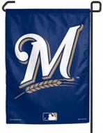 """Milwaukee Brewers 11"""" x 15"""" Garden Flag"""