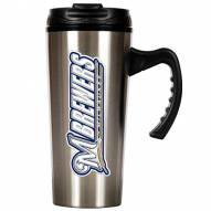 Milwaukee Brewers 16 oz. Stainless Steel Travel Mug