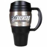 Milwaukee Brewers 20 Oz. Travel Mug