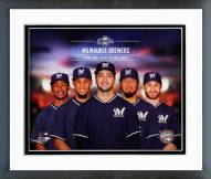 Milwaukee Brewers 2014 Team Composite Framed Photo