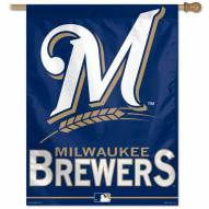 "Milwaukee Brewers 27"" x 37"" Banner"