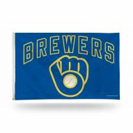 Milwaukee Brewers 3' x 5' Banner Flag