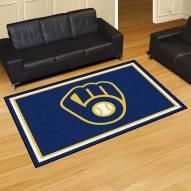 Milwaukee Brewers 5' x 8' Area Rug