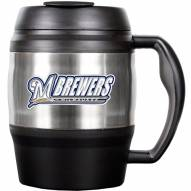 Milwaukee Brewers 52 Oz. Stainless Steel Macho Travel Mug