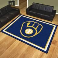 Milwaukee Brewers 8' x 10' Area Rug