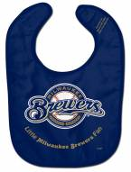 Milwaukee Brewers All Pro Little Fan Baby Bib