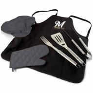 Milwaukee Brewers BBQ Apron Tote Set