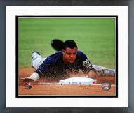 Milwaukee Brewers Carlos Gomez 2014 Action Framed Photo