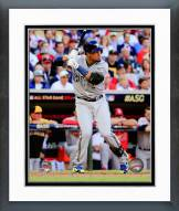 Milwaukee Brewers Carlos Gomez 2014 MLB All-Star Game Framed Photo