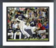 Milwaukee Brewers Carlos Gomez 2015 Action Framed Photo
