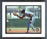 Milwaukee Brewers Cecil Cooper Action Framed Photo