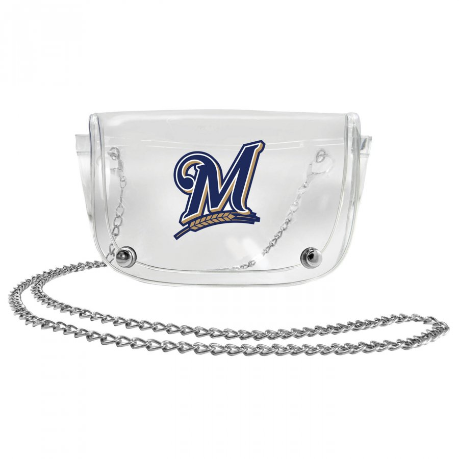 Milwaukee Brewers Clear Waistpack