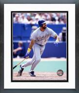 Milwaukee Brewers Dave Parker Action Framed Photo