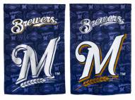 Milwaukee Brewers Double Sided Glitter Flag