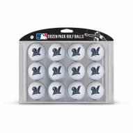 Milwaukee Brewers Dozen Golf Balls