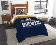 Milwaukee Brewers Grand Slam Twin Comforter Set